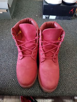 Size 10 Timberland boots for Sale in Whitehall, OH
