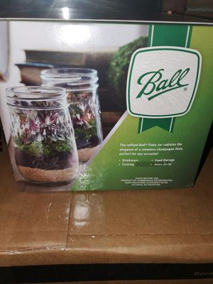 Ball 4 pack Flute jars for canning for Sale in Pawtucket, RI