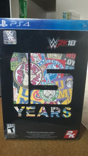 WWE 2K18 Cena Nuff edition for PS4 for Sale in Everett, MA