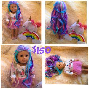 American girl doll unicorn 🦄 for Sale in Burlington, NC
