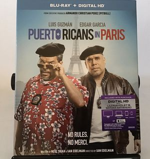 PUERTO RICANS IN PARIS/BLU RAY + DIGITAL HD for Sale in Levittown, PA