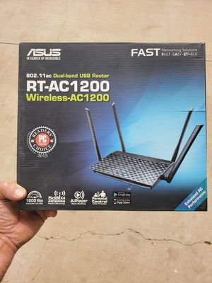 Asus Wireless Router RT-AC1200 for Sale in Riverside, CA