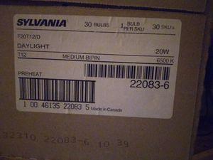 Sylvania F20T12/D 30 Bulbs Daylight 20 Watt for Sale in Angier, NC