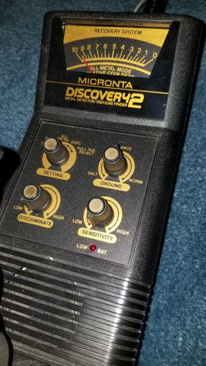 Micronta Discovery 2 Metal Detector for Sale in Reading, PA