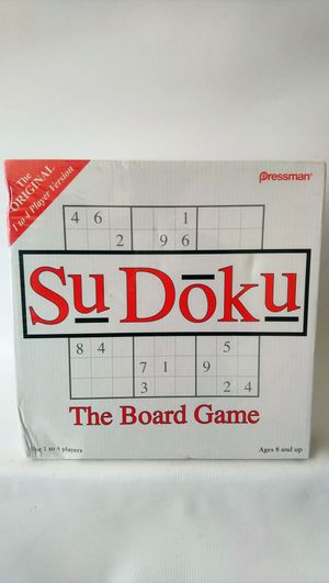Sudoku The Board Game New. Condition is New. for Sale in Washington, DC
