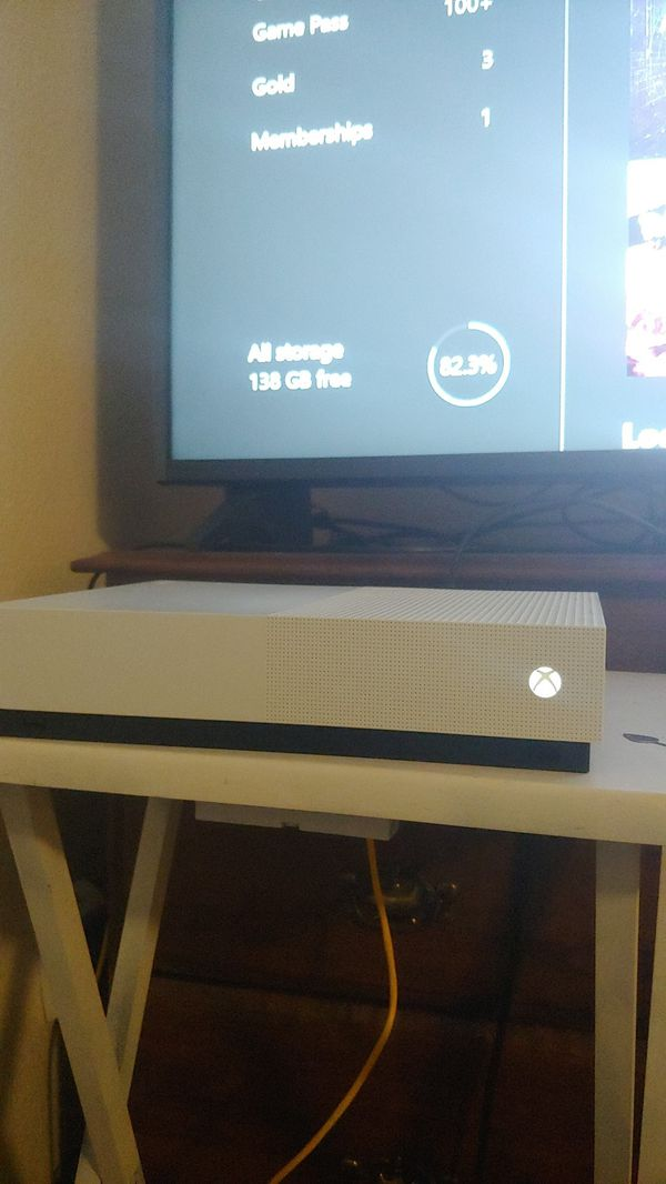 Xbox One S with Controller, Headset, and Games!