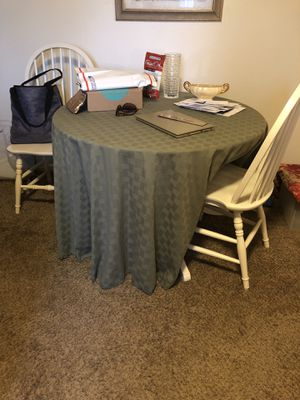 Small kitchen table with 4 chairs for Sale in Mesa, AZ