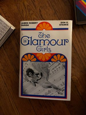 The Glamour Girls Book by James Robert Parish and Don Stanke for Sale in Linden, NJ