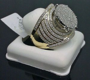 *NEW ARRIVAL* Mega Dazzling Pave White sapphire Ring SZ 10 *See My Other 300 items* for Sale in Palm Beach Gardens, FL