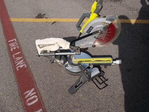 "Ryobi 15 Amp 10"" Miter Saw w/ Laser for Sale in Dallas, TX"