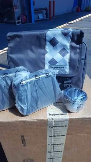 New Tupperware lunch set 4 piece for $39.00 for Sale in Phoenix, AZ