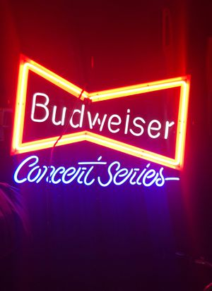 Budweiser concert series sign for Sale in Countryside, IL