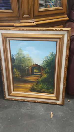 Beautiful Framed Oil Painting - S Wagner. for Sale in Oceanside, CA
