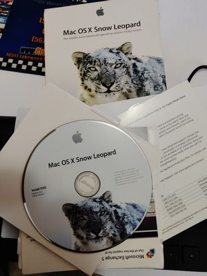 SNOW LEOPARD Mac OS X Software. $15 for Sale in Colton, CA