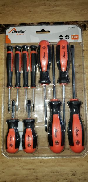10pc Magnetic Screwdriver Set for Sale in Chicago, IL