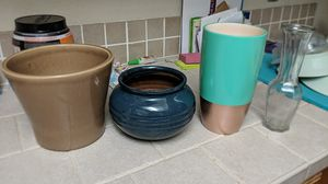 Flower pots and vases for Sale in Tempe, AZ