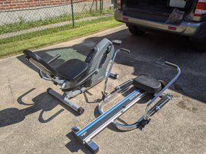 Exercise bike and Rowing Machine $25 each for Sale in Baltimore, MD