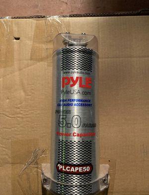 Pyle 5.0 Farad Power Capacitor for Sale in Stockton, CA