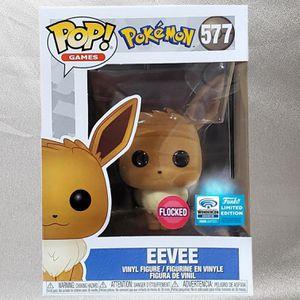 Funko Pop #577 Eevee (Flocked) Wondercon Official Exclusive for Sale in Phoenix, AZ