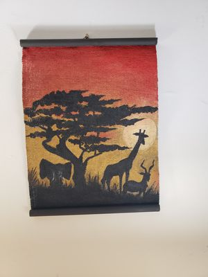 Wall Art, Burlap for Sale in Frederick, MD