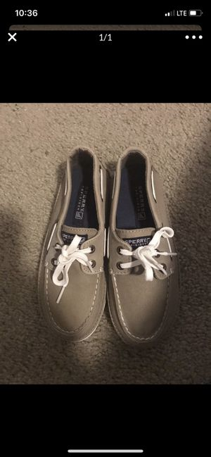 Brand new sperry boat shoes size 13 1/2 kids for Sale in Brea, CA