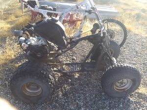 Honda atv B&S 6.5 hp and kawsaki motorcycle frame for Sale in Whitewater, CO