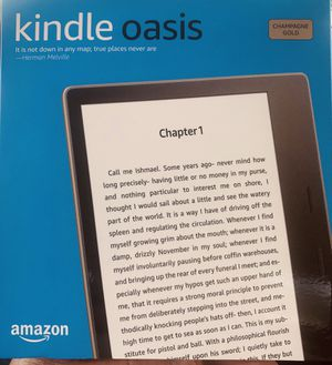 KINDLE OASIS BY Amazon. 32G Champagne /Gold for Sale in Santa Rosa, CA