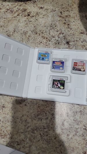 4 3ds games bundle for Sale in Princeton, FL