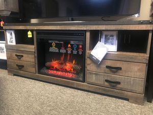 Ashley Furniture Fireplace TV Stand for Sale in Huntington Beach, CA