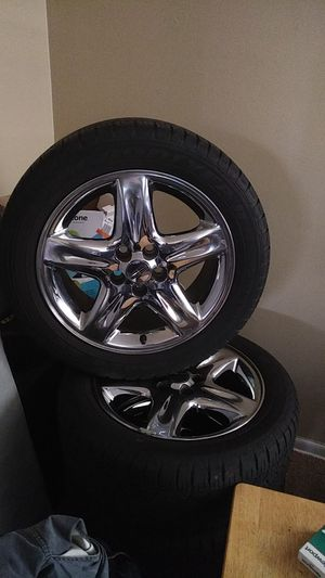 Lincoln ls original rims and tires for Sale in Justice, IL
