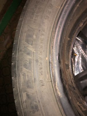 Pontiac Rims with Tires for Sale in Raymond, WA