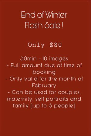 End of winter flash sale photography! for Sale in Carrollton, TX