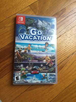 Go Vacation Nintendo Switch Game for Sale in Nashville, TN