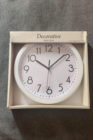 Decorative clock for Sale in University Park, MD