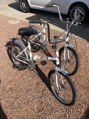 """Pair 3 speed 20"""" Folding Bikes for Sale in Glendale, AZ"""