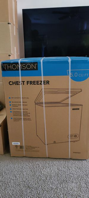 New in box Chest Freezer 5.0 cu ft for Sale in Las Vegas, NV