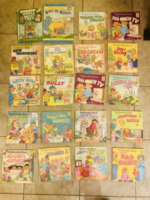 Variety of Berenstain Bears Books for Sale in Lewisville, TX