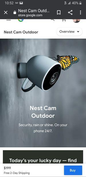 google nest camera for Sale in Salinas, CA