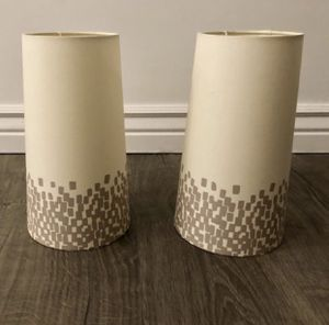 Mid Century style lamp shades for Sale in Phoenix, AZ