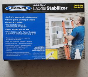 Used Werner Ladder Stabilizer for Sale in San Antonio, TX