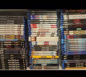 Blu-ray movies, like-new, dozens to choose from (see description for prices) for Sale in Duluth,  GA