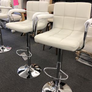 ADJUSTABLE BAR STOOLS set of 2 for Sale in Houston, TX