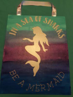 Mermaid canvas for Sale in Appomattox, VA