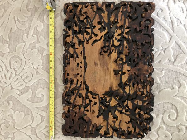 Wall carving -wooden