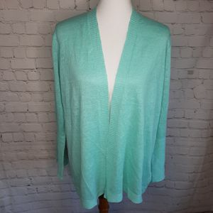 Eileen Fisher Organic straight cardigan size LP for Sale in Schaumburg, IL