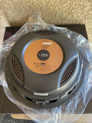 Infinity shallow mount subwoofers for Sale in Modesto, CA