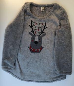 Fuzzy reindeer fleece size women's XL for Sale in Everett, WA