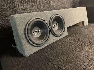 "Ford F-150 Custom Subwoofer Enclosure w/2 Polk Audio 10"" DVC for Sale in Conyers, GA"