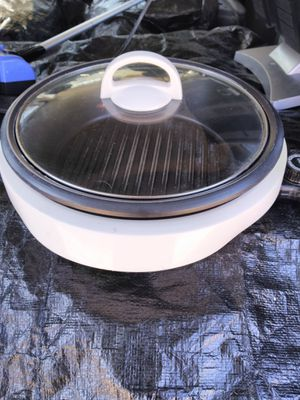 Aroma electric grill for Sale in Binghamton, NY