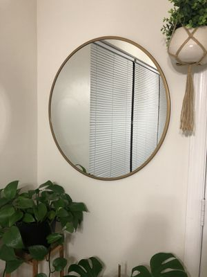 "Gold Round Mirror 28"" for Sale in Silver Spring, MD"